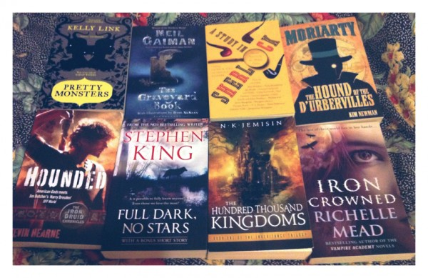 October Book Haul 2012