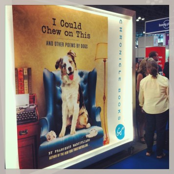 Cutest book poster at BEA - by far!
