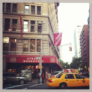 The infamous Strand Bookstore, NYC