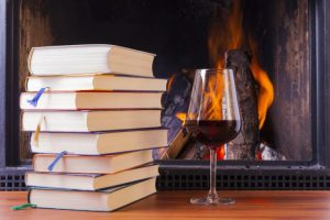 Hygge to the max, says Book Riot.