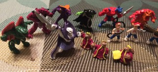 MIGHTY MAX FIGURES (2)