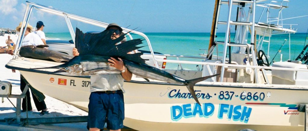 Df8 1170 dead fish charters for Grayton beach fishing charters
