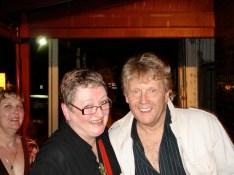 With Darryl Cotton at the Hepburn Palais...