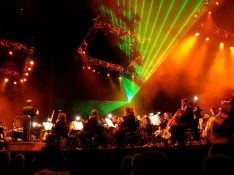 The Melbourne Symphony Orchestra during the Classical Spectacular complete with laser beams! At Rod Laver Arena