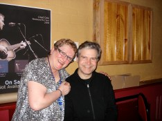 With the charming Mr Lloyd Cole at the Hepburn Palais