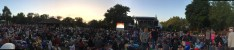 Waiting on the lawn at The Melbourne Zoo for the Zoo Twights Concert by Neko Case to begin