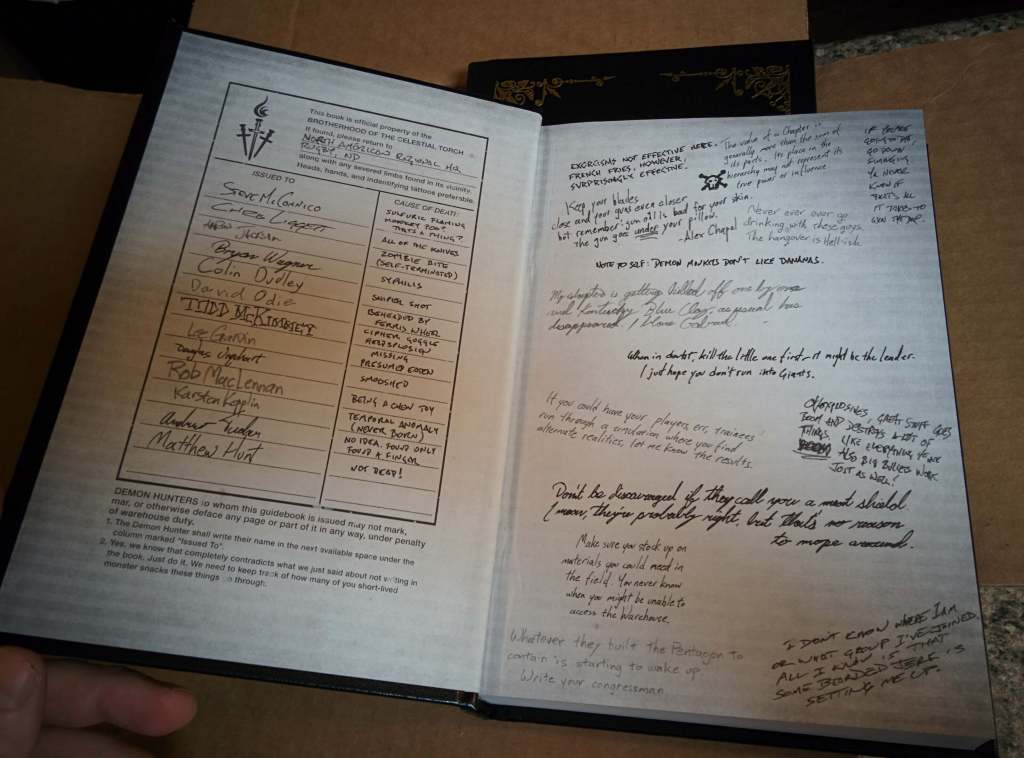 Leatherbound Inside Cover