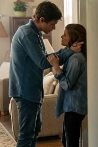 Nick Robinson and Kate Mara in 'A Teacher'