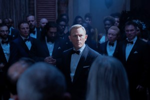 Daniel Craig doesn't have time to die.