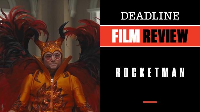 Watch Rocketman Review Taron Egerton Fantastic In Ultimate Elton John Film Deadline