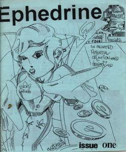 Ephedrine - an early rave fanzine from about 1993.
