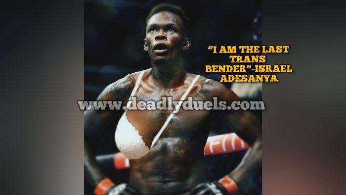 "ISRAEL, ""I AM THE LAST TRANS BENDER"""