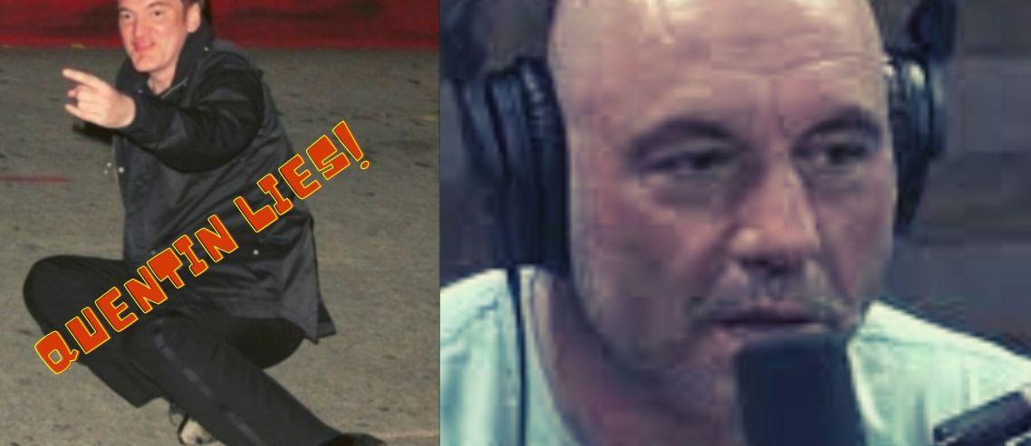 Why Quentin Tarantino LIED on Joe Rogan?