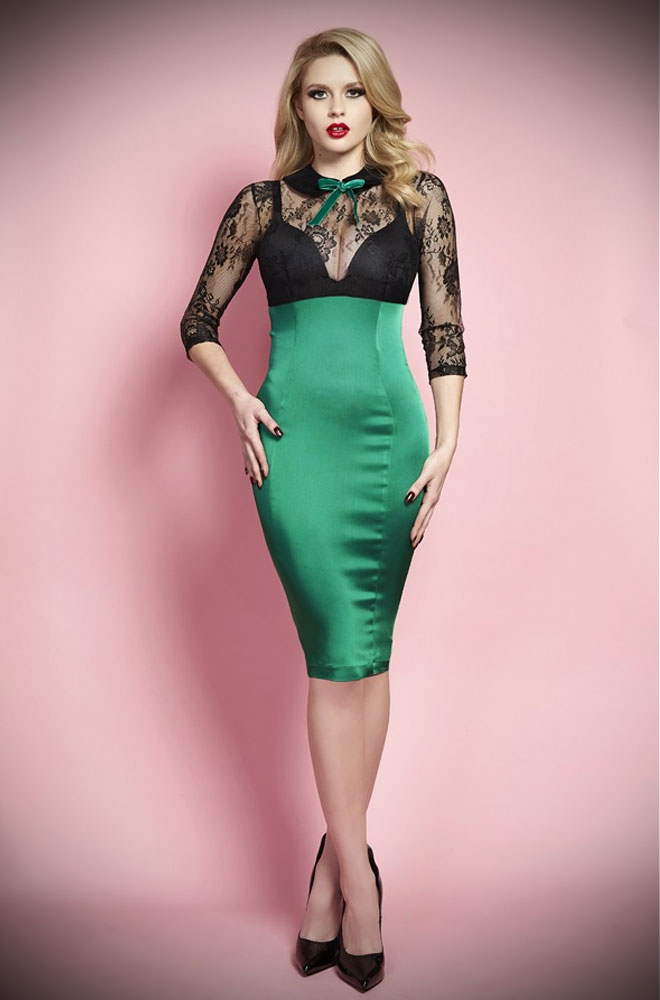 The Kim Novak Dress By Wheels And Dollbaby At Deadly Is