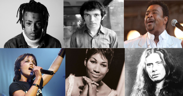 musicians who died in 2018