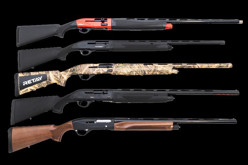 A selection of DOA sporting shotguns.