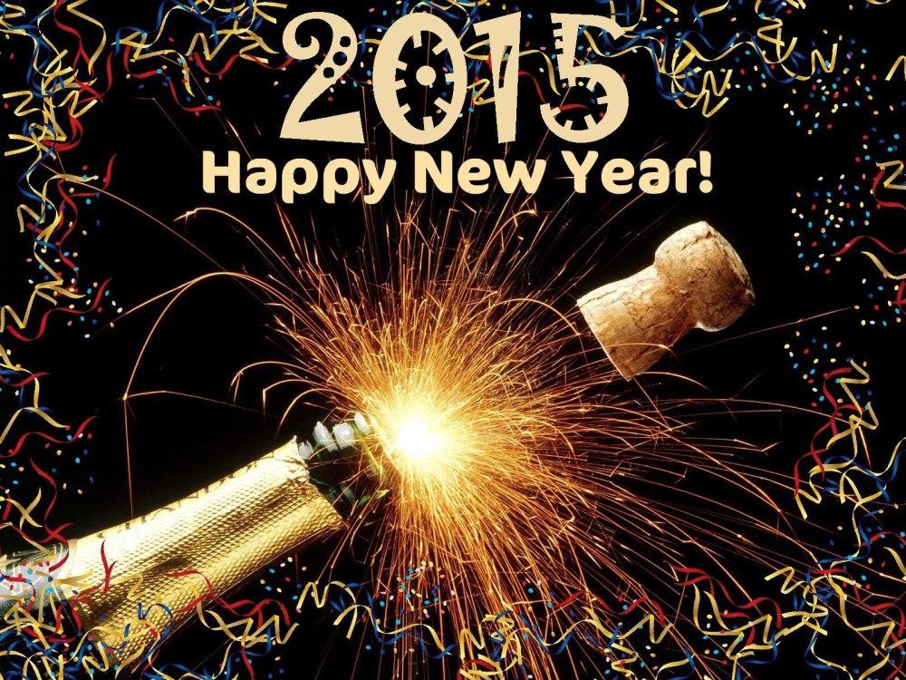 Happy New Year (Gott Nytt År) 2015 (1/3)