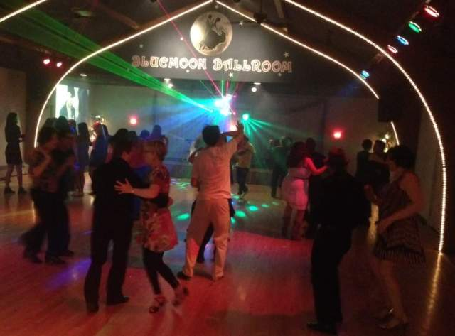 Social Dance at the Blue Moon Ballroom