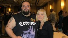 Cook with the beautiful Barbara Crampton, Flashback Weekend 2012