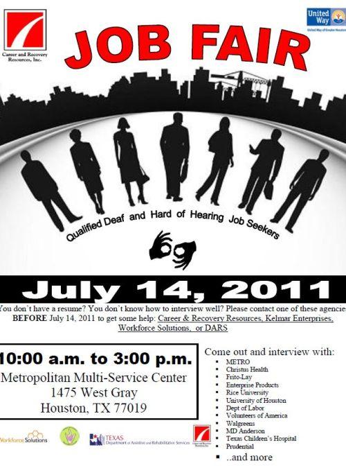 DHHS flyer - Job Seekers 2011