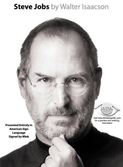 Steve Jobs ASL By Wink flyer