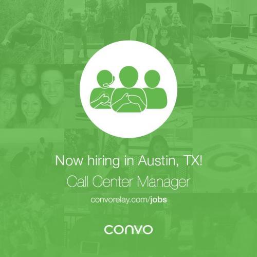 conv job opening austin flyer