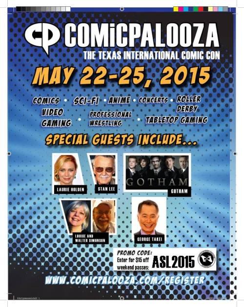 Comicpalooza ASL Code