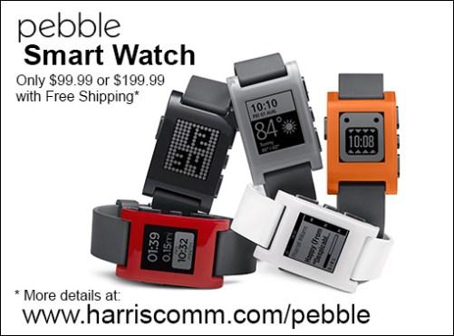 Pebblesmartwatch