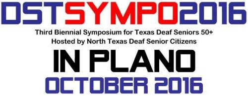deaf senior texas sympo 2016 logo