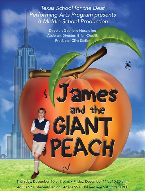 James Peach flyer