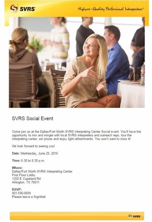 SVRS Social Event