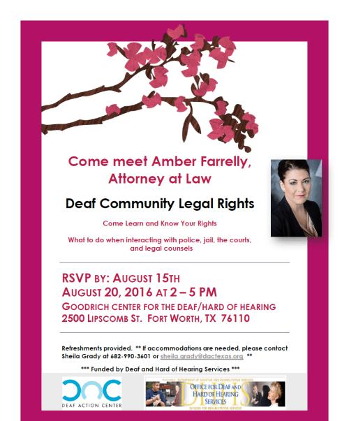 Amber Farrelly Self Advocacy Workshop