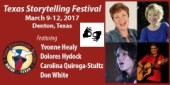 Texas Storytelling Festival - Interpreter Provided