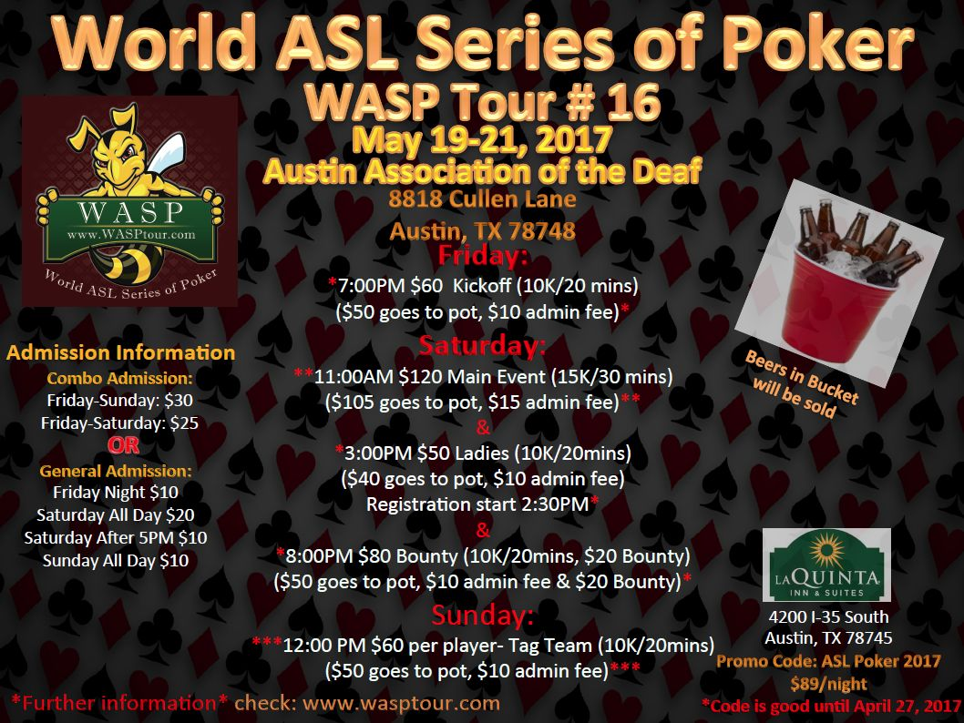 world series of poker entrance fee