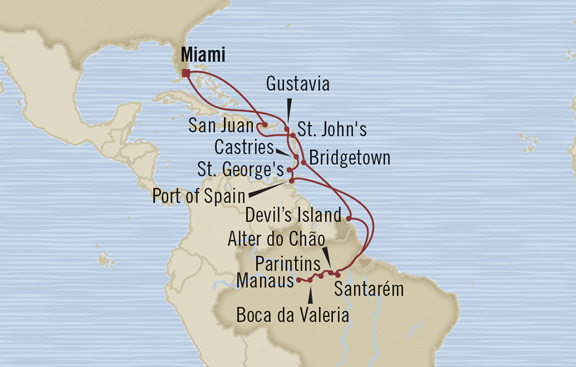 South America Amazon Cruise With Sign Language Interpreter - Cruise to south america