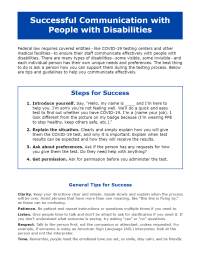 Successful-Communication-with-People-with-Disabilities Page One