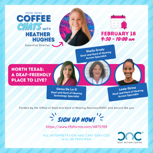 Join our Coffee Chat on February 18th
