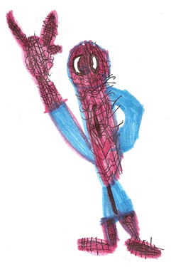 Spider-Man with I-Love-You Sign (4/6)