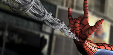 Spider-Man with I-Love-You Sign (1/6)
