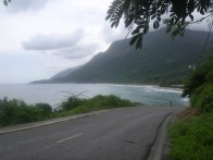 The road to Barahona, DR