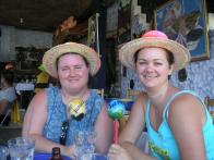 Christy and Deah at Carnival