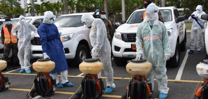 Obras Públicas Inicia primera fase descontaminación Gran Santo Domingo