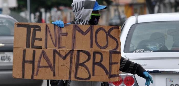 El hambre sigue creciendo en Latinoamérica, según la ONU