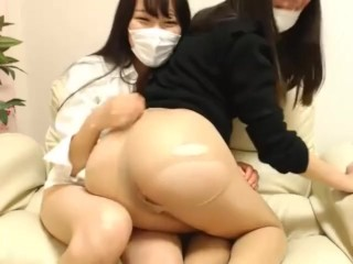 【Live Chat】 Cute black-haired girls super extreme erotic delivery