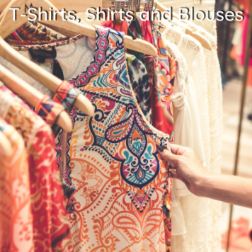 Women's T-shirts, Shirts and Blouses