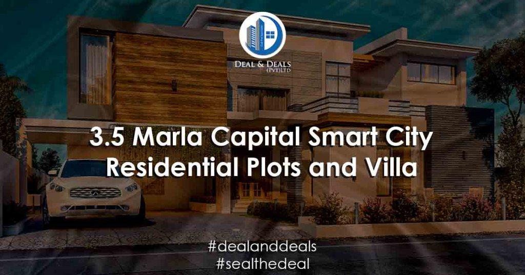 3.5 Marla Capital Smart City Residential Plots and Villa