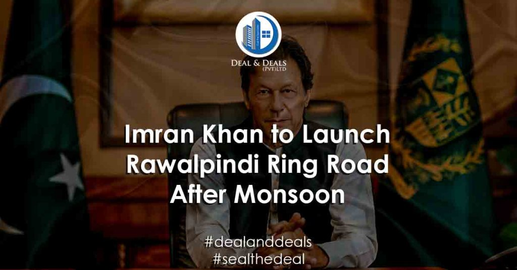 Imran Khan to Launch Rawalpindi Ring Road After Monsoon