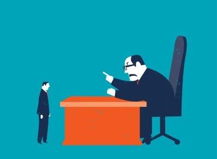 Șeful bully sau coșmarul de la locul de muncă
