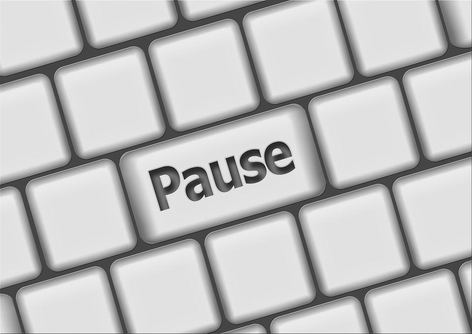 pauzele in blogging