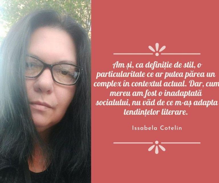 Issabela Cotelin despre scris